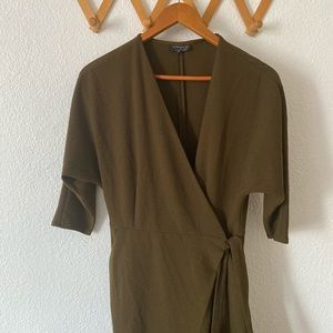 Gorgeous Olive blazer/dress